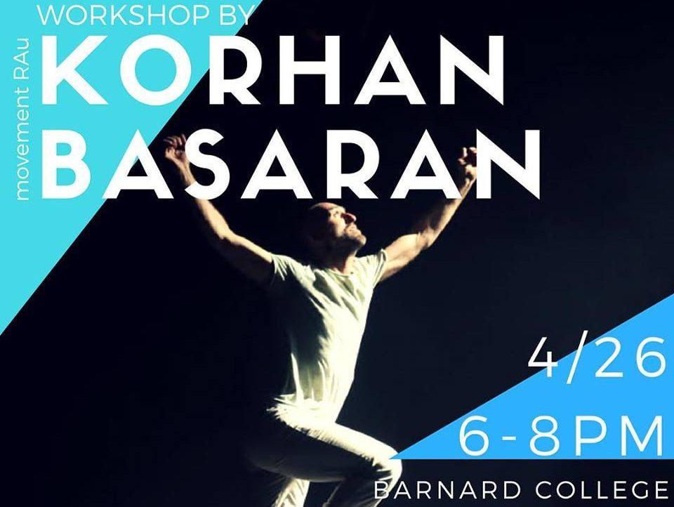 Workshop @Barnard College NYC