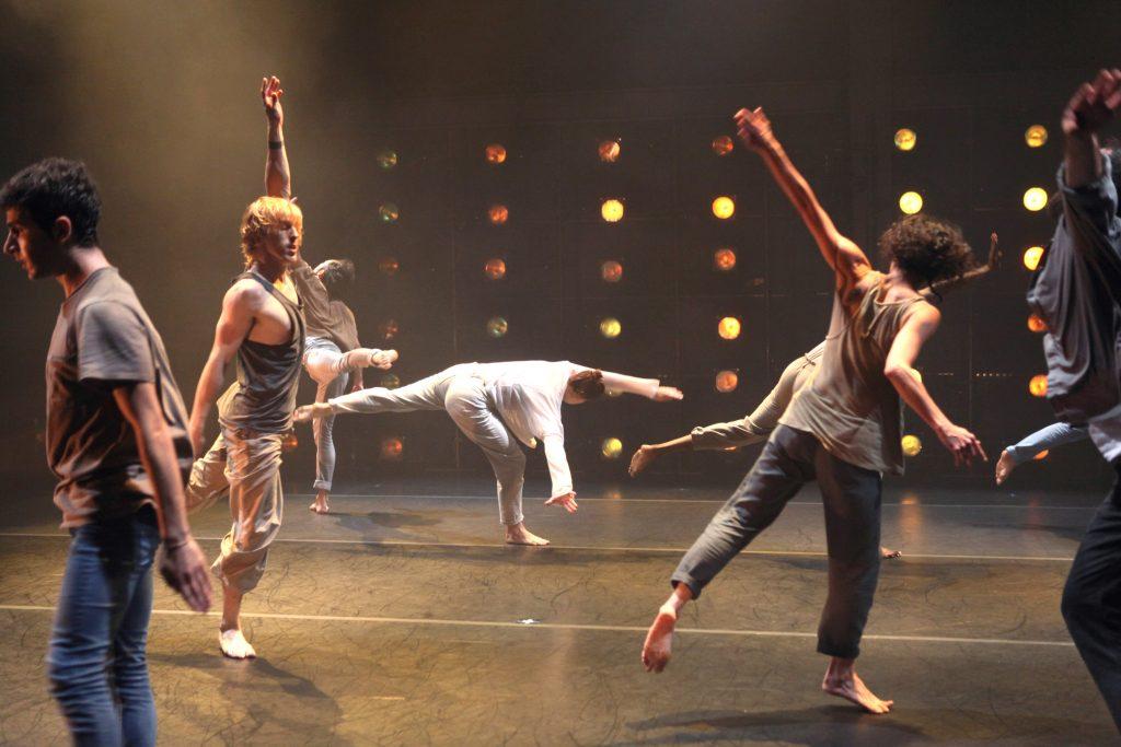 DanceMotion USA at BAM 2014: David Dorfman Dance & Korhan Basaran Company '14